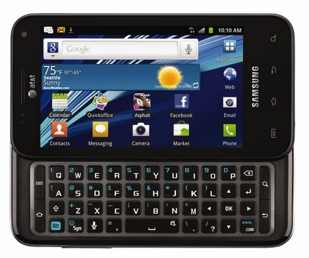 AT&T Samsung Captivate Glide QWERTY Android Phone 1