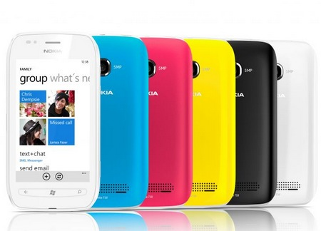 Nokia Lumia 710 Windows Phone 7.5 Smartphone colors