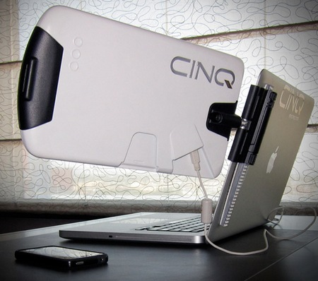 Sideline CINQ Portable Laptop Monitor white