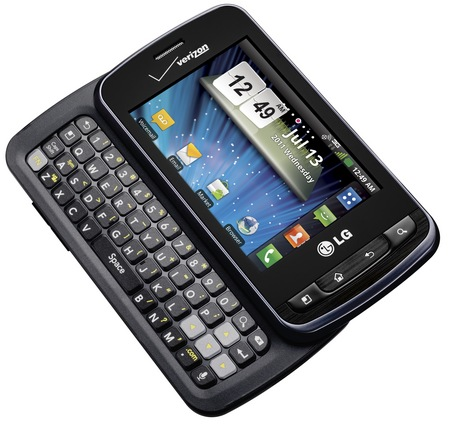 Verizon LG Enlighten Android Phone with Sliding QWERTY Keyboard