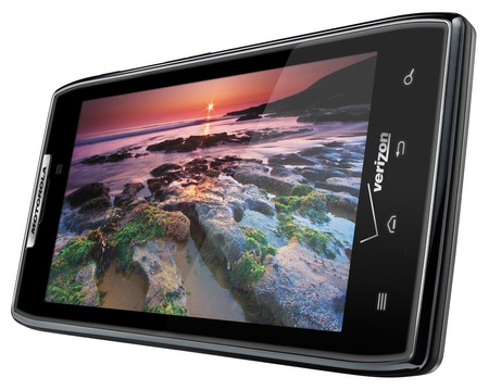 Verizon Motorola DROID RAZR Ultra Slim Android Smartphone landscape