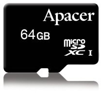 Apacer 64GB microSDXC Announced