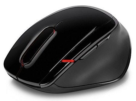 HP X7000 WiFi Touch Mouse with Facebook Button 2