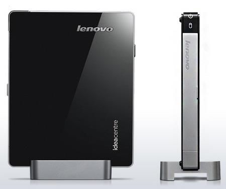 Lenovo IdeaCentre Q180 is the World's Smallest Desktop PC side