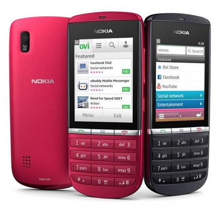 Nokia Asha 300 S40 Phone