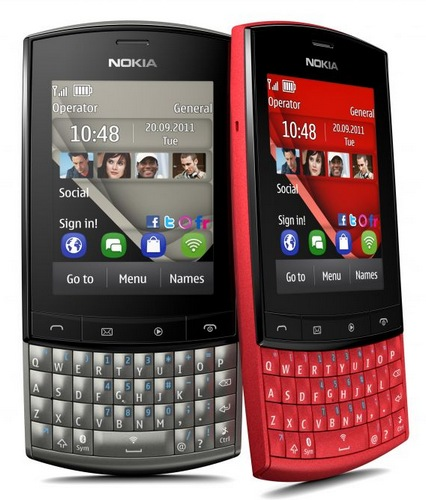 Nokia Asha 303 S40 Phone with QWERTY Keyboard