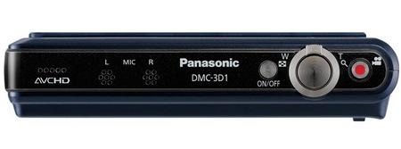 Panasonic LUMIX DMC-3D1 33D Digital Camera top