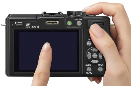 Panasonic LUMIX DMC-GX1 Micro Four Thirds Camera touch