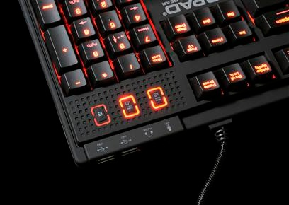 QPAD MK-85 gaming keyboard backlight