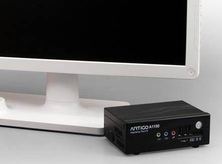 VIA ARTiGO A1150 Dual-core DIY PC Kit with monitor