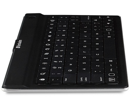 Verbatim Ultra-Slim Bluetooth Mobile Keyboard for Tablets side