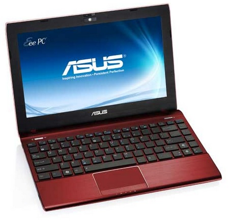 Asus Eee PC 1225B Netbook powered by AMD Fusion