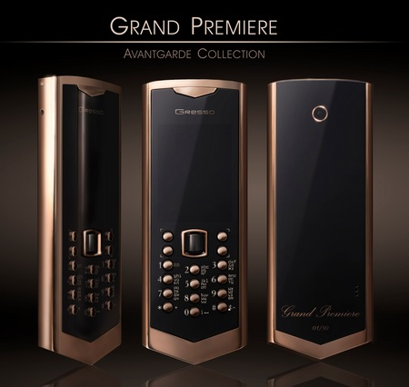 Gresso Avantgarde Grand Premiere Luxury Phone runs Symbian