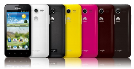 Huawei Honor U8860 Android Smartphone colors