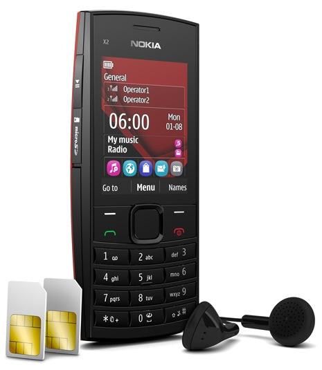 Nokia X2-02 Dual-SIM Music Phone