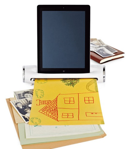 Brookstone iConvert Scanner Transforms your iPad into Scanner