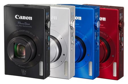 Canon PowerShot ELPH 520 HS digital camera colors