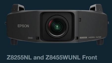 Epson PowerLite Pro Z8455WUNL and Z8255NL Installation Projectors
