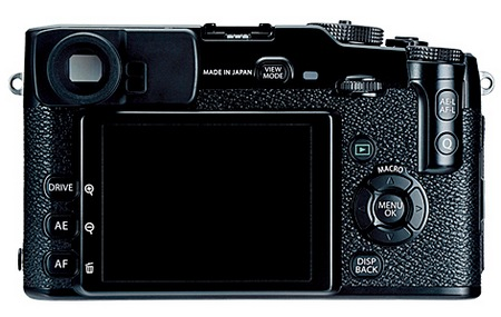 FujiFilm X-Pro 1 Interchangeable Lens Digital Camera back