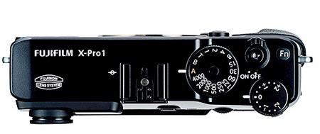 FujiFilm X-Pro 1 Interchangeable Lens Digital Camera top