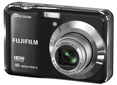 Fujifilm FinePix AX550 Digital Camera Front Open