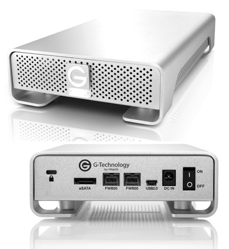 G-Technology G-DRIVE Storage Devices with Deskstar 7K4000