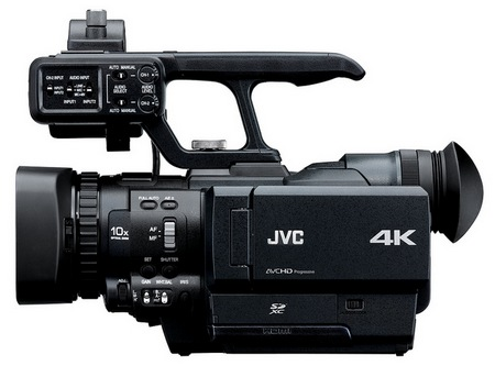JVC GY-HMQ10 - The World's First Handheld 4K Camcorder 1
