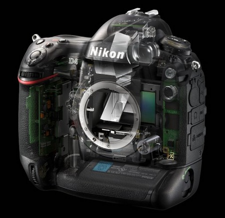 Nikon D4 Digital SLR skeleton