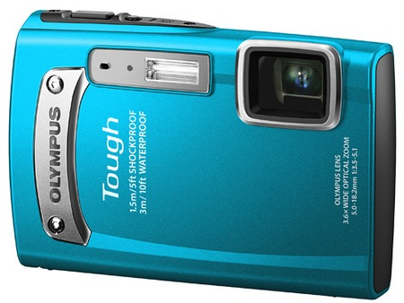 Olympus TOUGH TG-320 Rugged Digital Camera blue