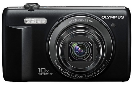 Olympus VR-340 Camera with 10x Optical Zoom black