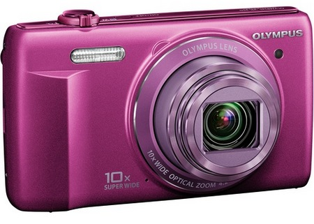 Olympus VR-340 Camera with 10x Optical Zoom purple