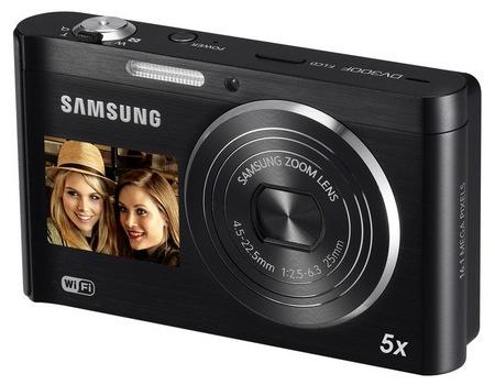 Samsung DualView DV300F Dual-screen Digital Camera with WiFi