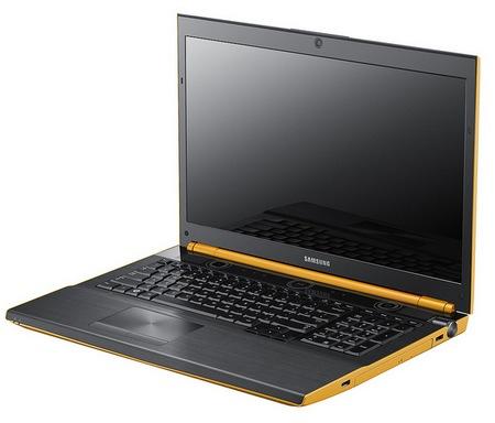 Samsung Series 7 GAMER Yellow Gaming Notebook