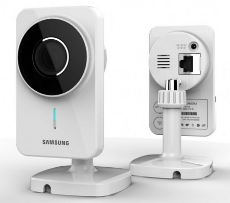 Samsung SmartCam WiFi IP Camera for Real-time Surveillance