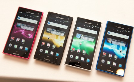 Sony Ericsson Xperia arco HD SO-03D Smartphones for NTT DoCoMo hands-on 1