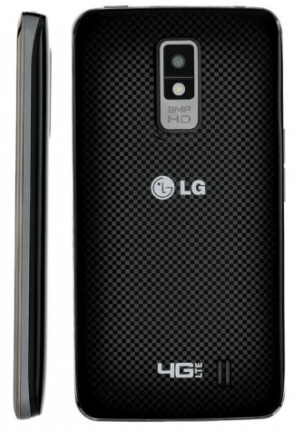 Verizon LG Spectrum LTE 4G Smartphone with IPS Touchscreen back
