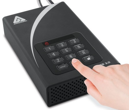 Apricorn Aegis Padlock DT USB 3.0 Encrypted Desktop Hard Drive