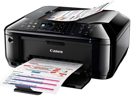 Canon PIXMA MX512 Offiice Wireless All-in-one Printer