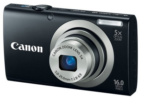 Canon PowerShot A2300 digital camera black