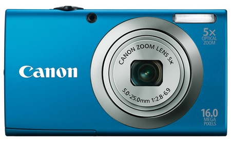 Canon PowerShot A2300 digital camera blue