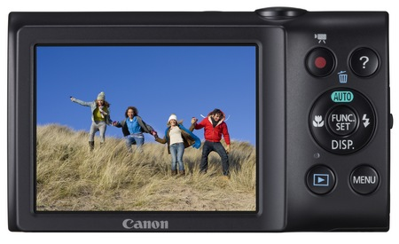 Canon PowerShot A2400 IS digital camera back