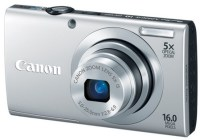 Canon PowerShot A2400 IS digital camera silver