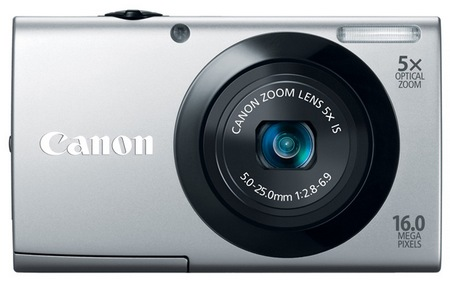 Canon PowerShot A3400 IS digital camera silver