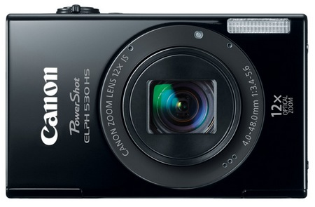 Canon PowerShot ELPH 530 HS Digital Camera black