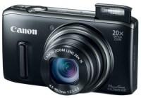 Canon PowerShot SX260 HS GPS 20x zoom digital camera black