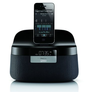 Gear4 Renew SleepClock iPad Speaker also a Non-contact Sleep Monitor