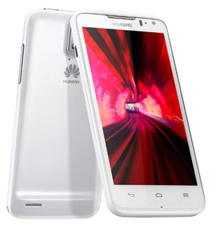 Huawei Ascend D quad and Ascend D quad XL white
