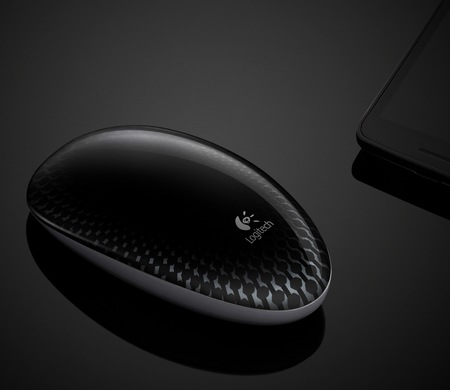 Logitech Touch Mouse M600 Buttonless Touch Mouse