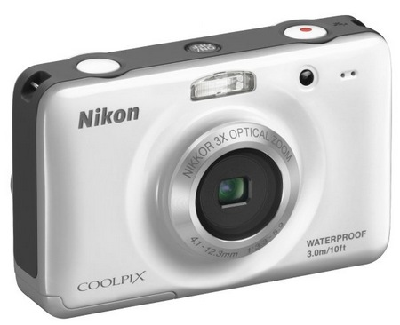 Nikon CoolPix S30 Rugged Digital Camera white