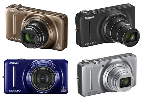 Nikon CoolPix S9200 Compact Long Zoom Camera